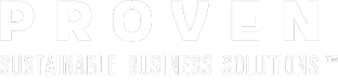 Proven Logo White